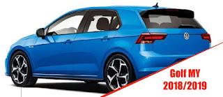 Nuova Volkswagen Golf 2018_2019 posteriore