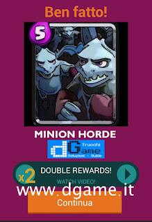 Soluzioni Quiz Clash Royale card livello 33