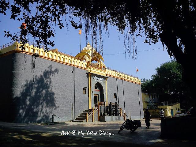 The imposing Bhairavnath temple, Saswad, Pune, Maharashtra
