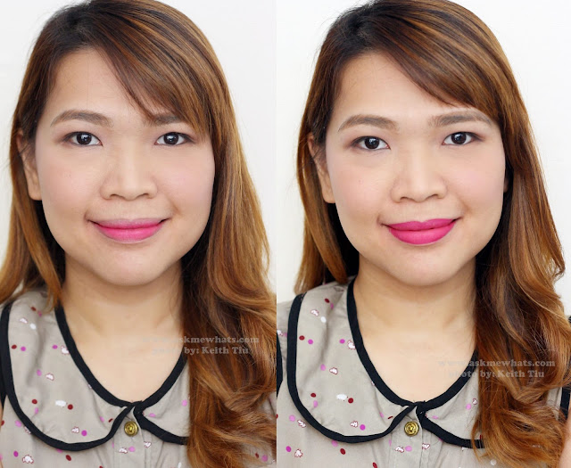 a photo of Maybelline LIPgradation shade fuchsia1