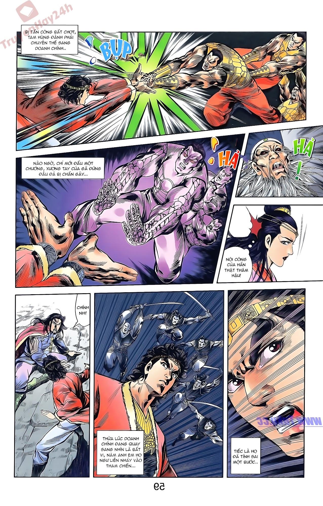 Tần Vương Doanh Chính chapter 46 trang 25