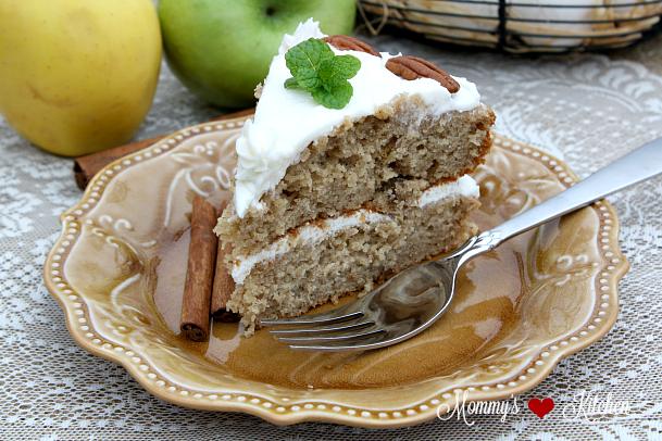 Olivia Waltons Applesauce Cake