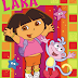 Tarjeta de Invitaciones de Cumpleaños con diseño de Dora La Exploradora