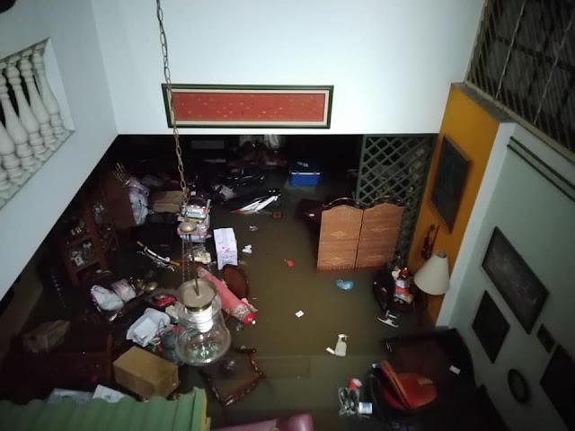 banjir besar jakarta barat