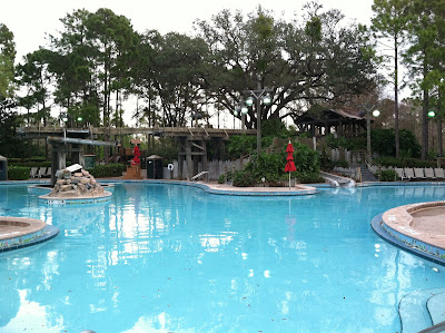 Disney Port Orleans Riverside Pool