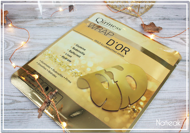 Masque Wrap d'or  Qiriness