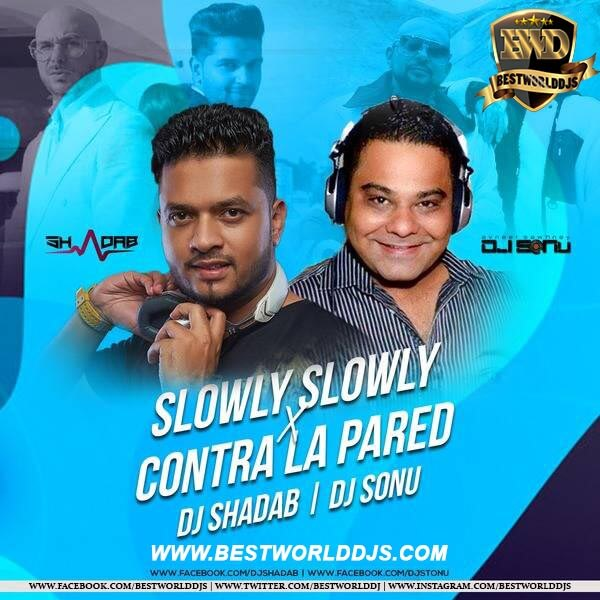 Slowly Slowly X Contra La Pared (Remix) - DJ Shadab DJ SoNu