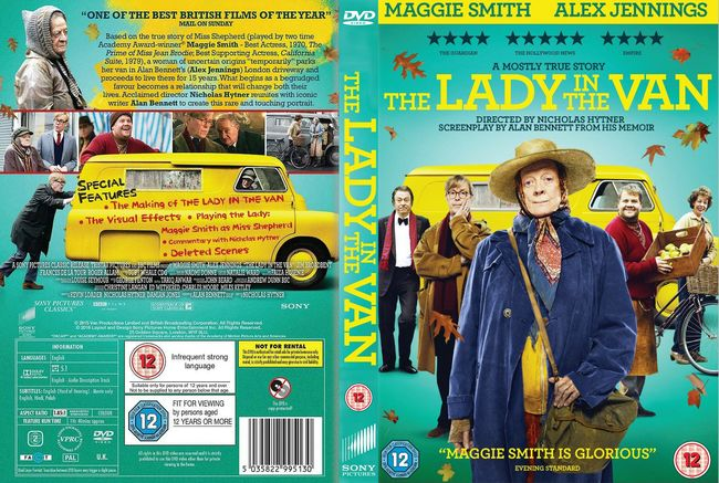 The Lady In The Van – Castellano, Inglés – DVD-9