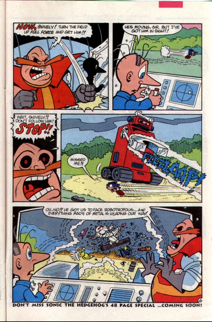Read online Sonic The Hedgehog comic -  Issue #15 - 25