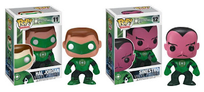 Green Lantern Movie Pop! Heroes Vinyl Figures - Green Lantern Hal Jordan & Sinestro