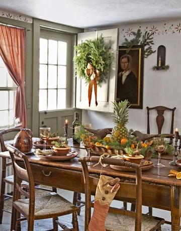Pat's...Again!: Colonial Decorating