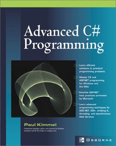 كتاب advanced  c# Programming لمن يريد احتراف لغة سي شارب مدفوع حمله مجانا