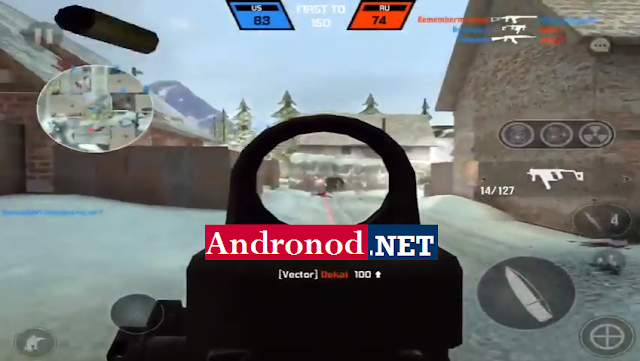 Modern Combat Versus Mod v0.6.1 Apk Data Terbaru Full (Unreleased)
