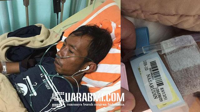 Baru 2 Bulan Di Taiwan Sakit, TKI Ini Diabaikan Oleh Agensinya dan Akan Dipulangkan