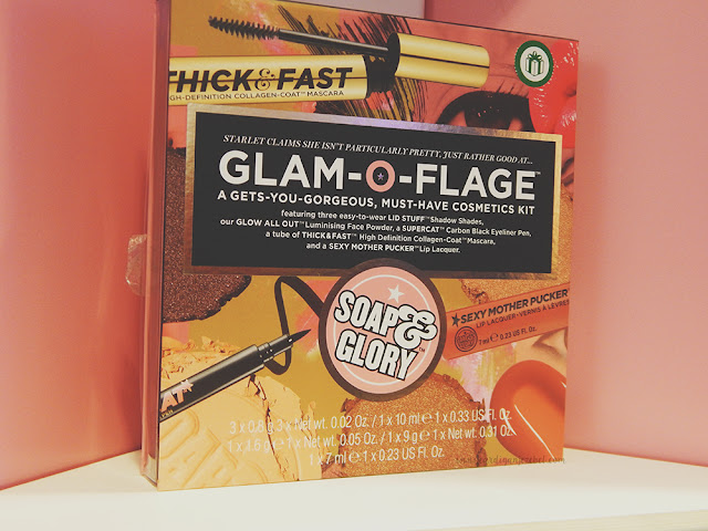 Soap and Glory Glam-O-Flage Christmas gift set