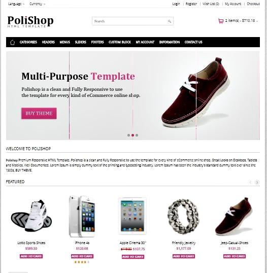 15 Template Online Shop Terkeren Toko Online 2018 | Buka