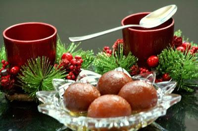 Cardamom Flavoured Gulab Jamun