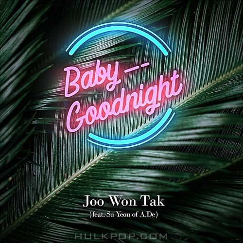 JOO WON TAK – Baby Goodnight – Single