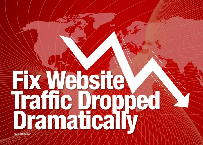 Fixing Website Rankings And Traffic Dropped Dramatically