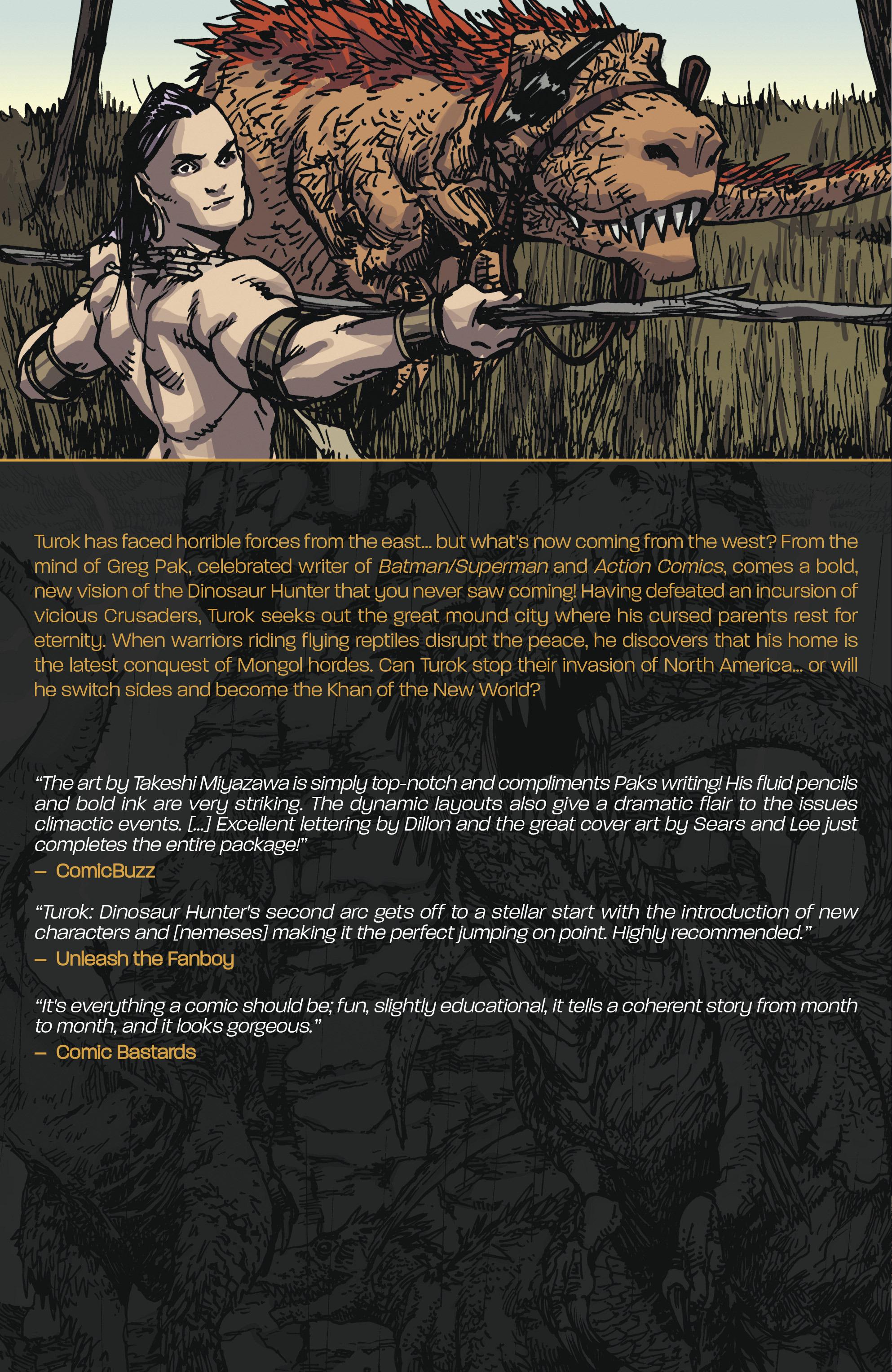 Read online Turok: Dinosaur Hunter (2014) comic -  Issue # _TPB 2 - 116