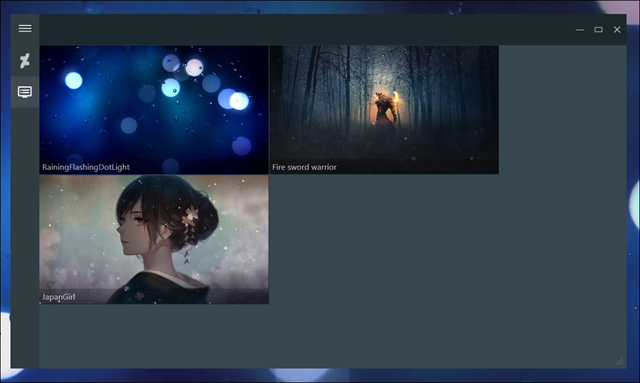 إضافة خلفيات متحركة ديناميكية في ويندوز 10 برنامج