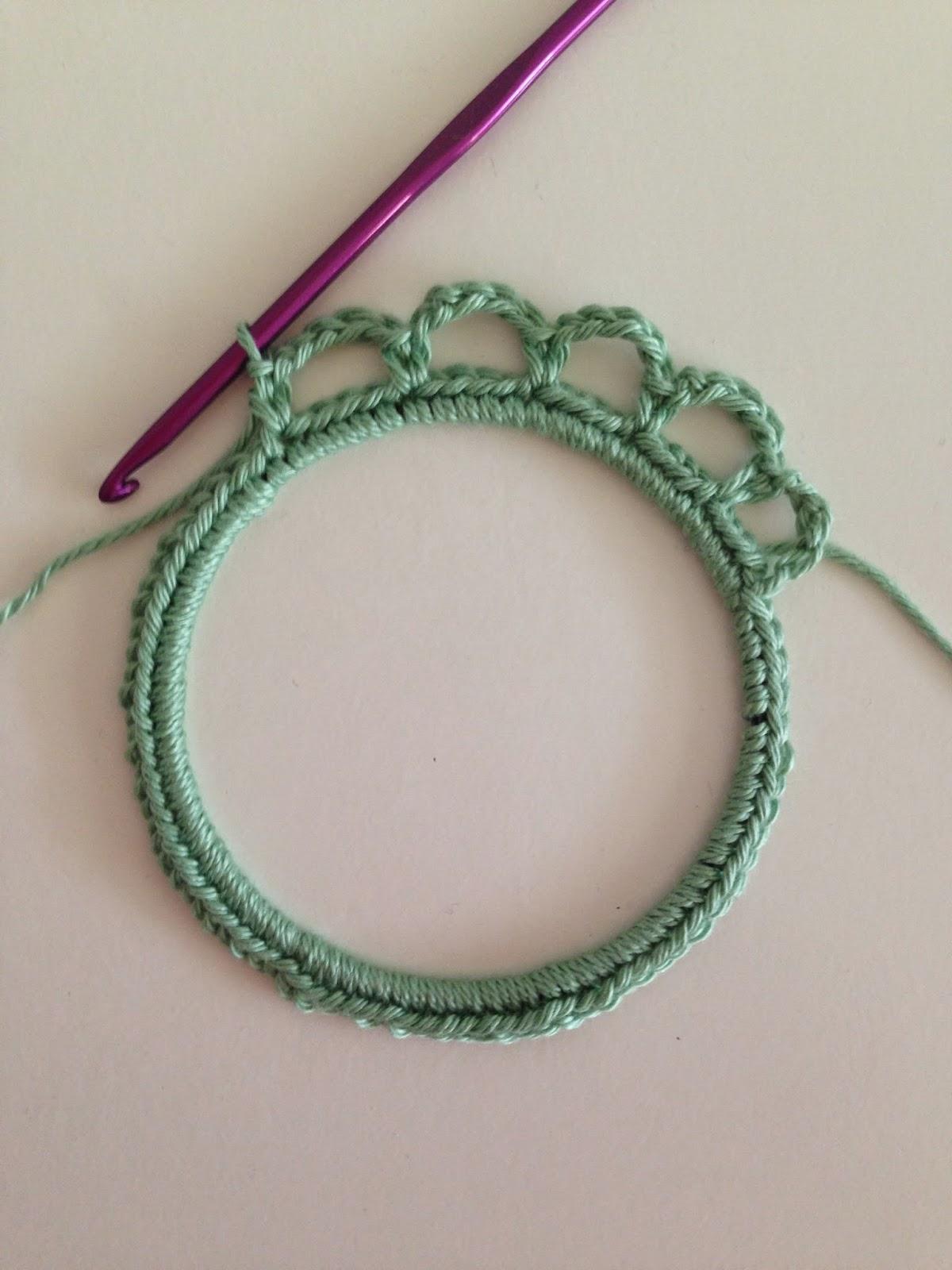 Fotolijstje Haken Stap Voor Stap Uitleg Crochet Photoframe