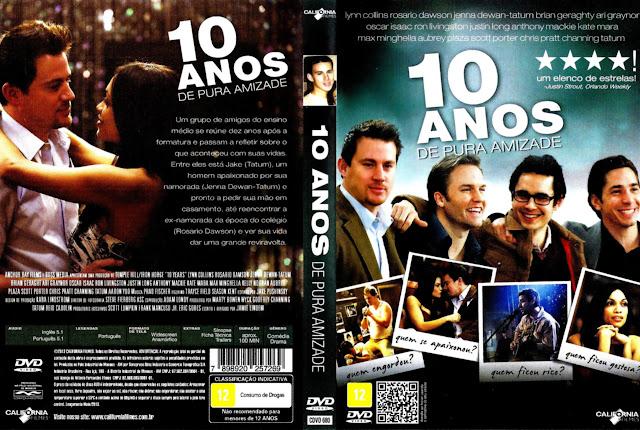 Capa DVD 10 ANOS DE PURA AMIZADE