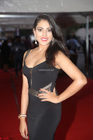 Madhu Shalini in a Glamorous Deep neck Black Sleeveless Dress at Mirchi Music Awards South 2017 ~  Exclusive Celebrities Galleries 025.JPG