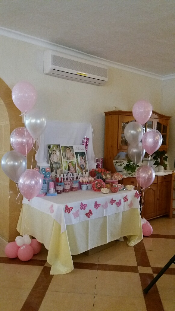 Decoraci n con globos de todo fiesta decoraciones para 1 - Bombas para decorar ...