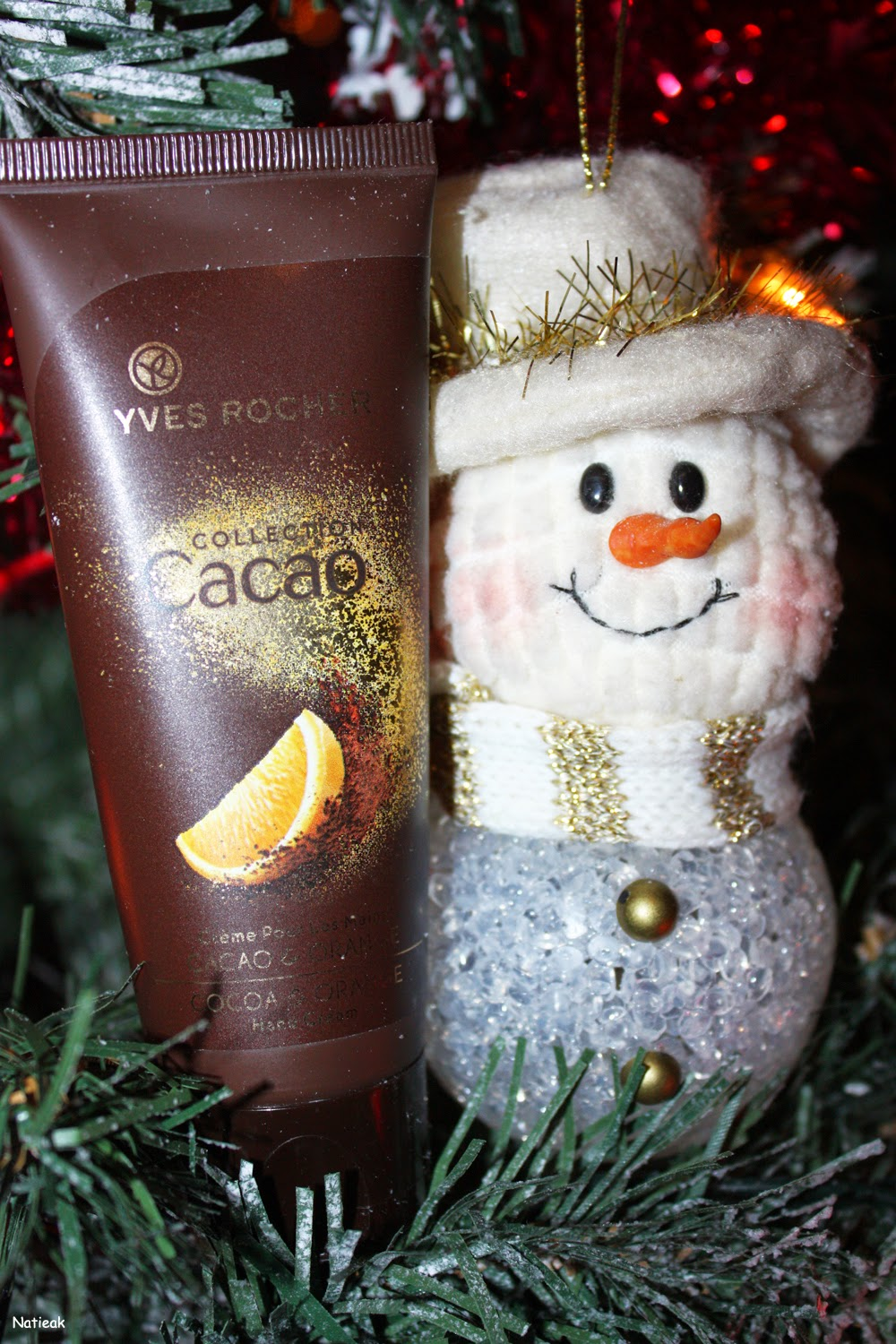 collection Noël Cacao orange d'Yves Rocher
