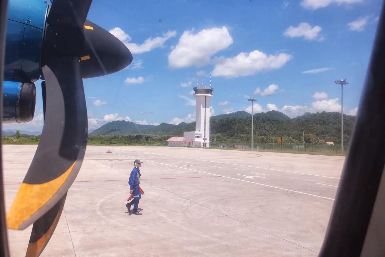 LuangPrabang-Airport ルアンパバーン空港
