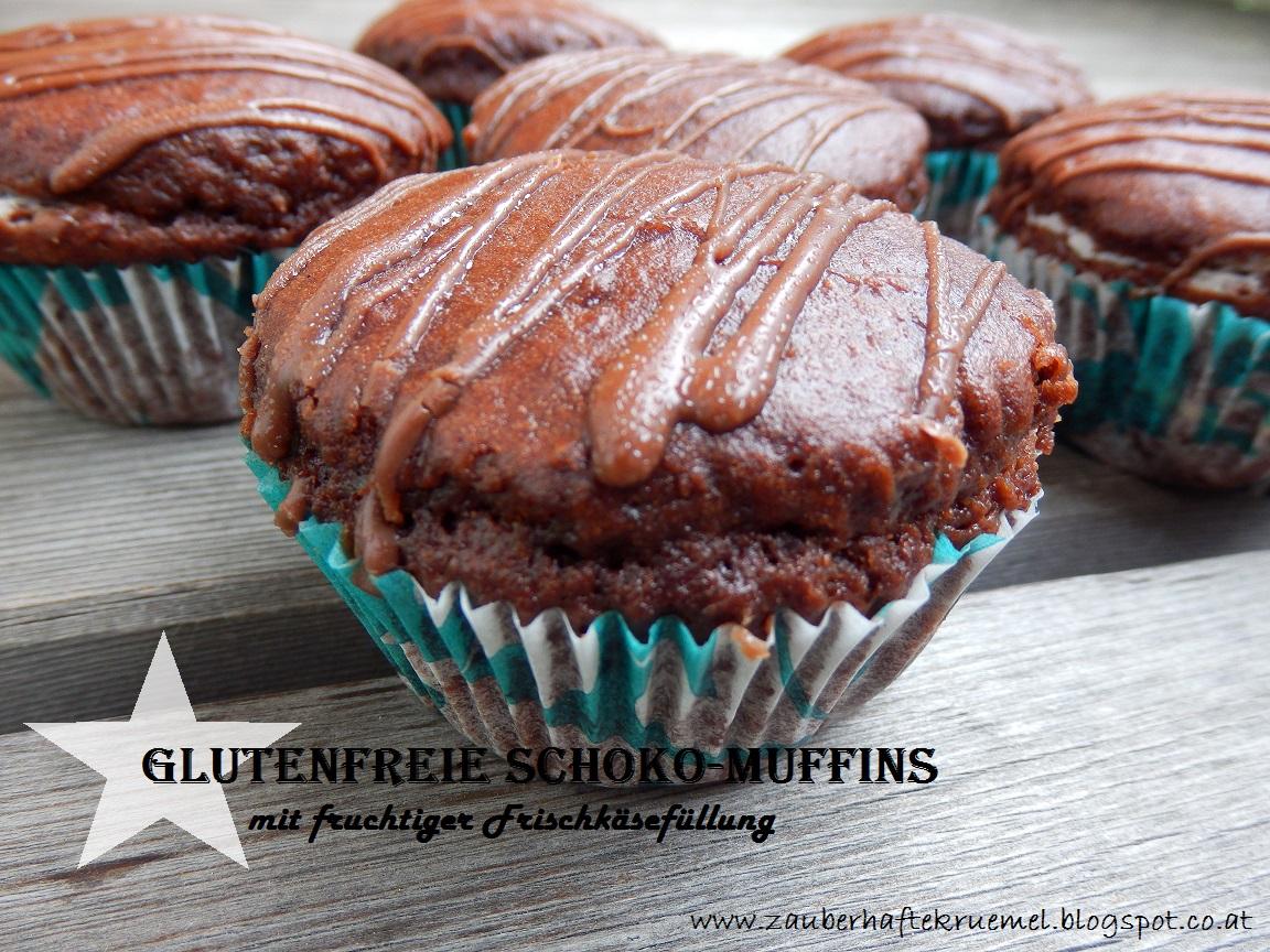 zauberhafte kr mel rezepte glutenfreie schokomuffins. Black Bedroom Furniture Sets. Home Design Ideas