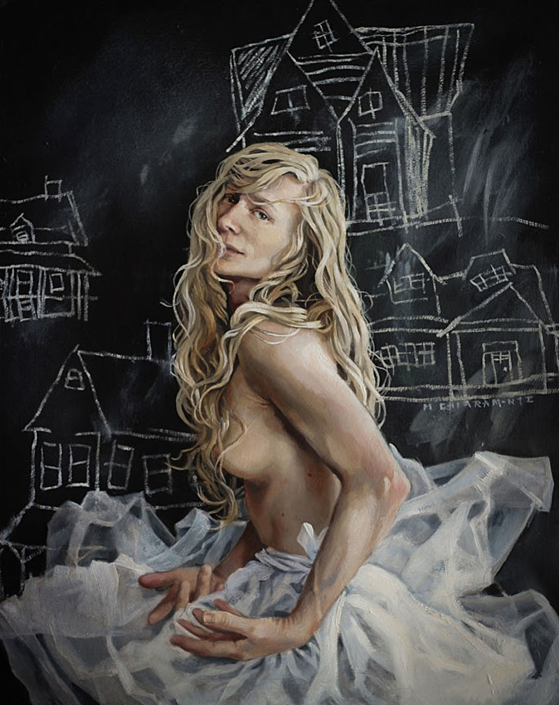 Figurative Paintings by Mary Chiaramonte from America.