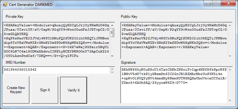 Cert File Generator DARKMED ~ DARKMED ELECTRONICS