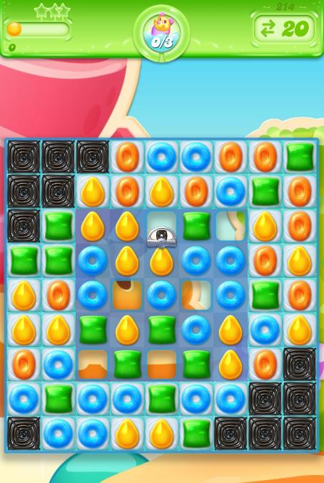 Candy Crush Jelly Saga 214