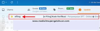 Buka Email dan periksa Pesan Masuk dari Efiling