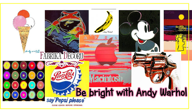 +++Задание сентября. Be Bright with Andy Warhol до 30/09