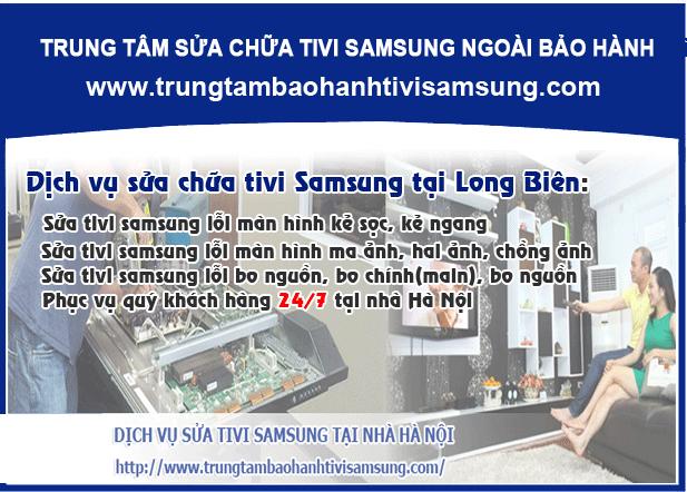Sửa tivi samsung tai quận Long Biên - Niềm tin cho mọi nhà