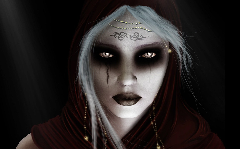 Horror scary evil witc...