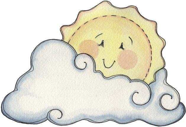 Dibujo De Sol Y Nubes Pintado Por Jfrkffkkf En Dibujos Net El Día