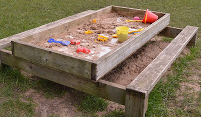 Tattershall Farm Park - A review - sand pit