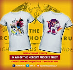 Playera freddie Mercury a beneficio The MPT