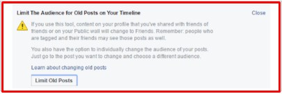 how to make your facebook profile completely private from non friends
