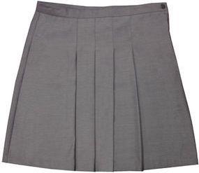 Foto de falda con pliegues en el centro