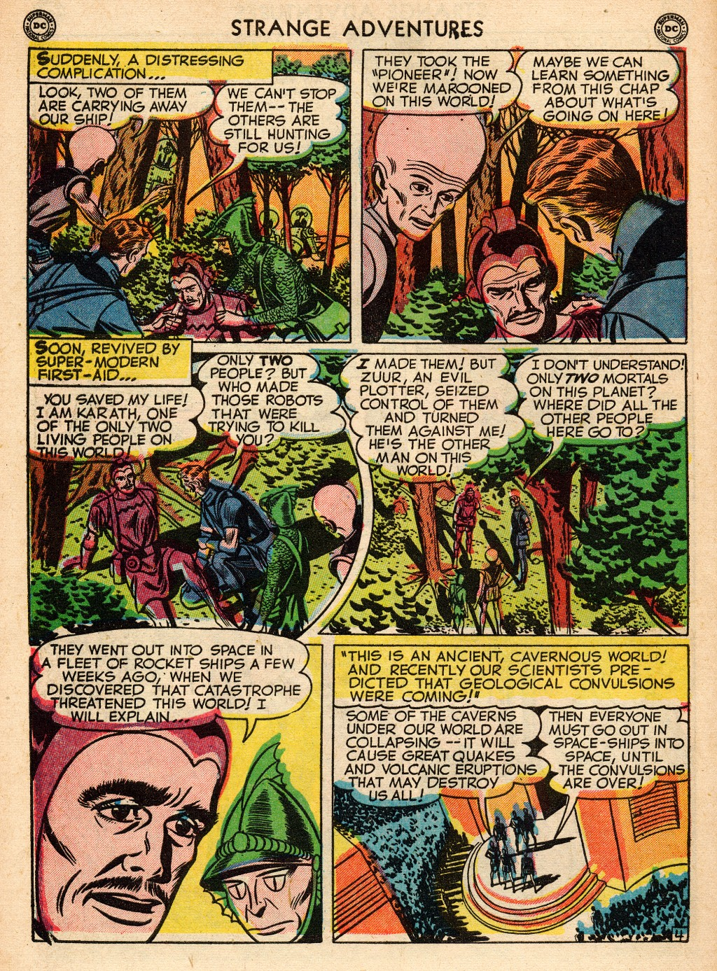 Strange Adventures (1950) issue 2 - Page 42