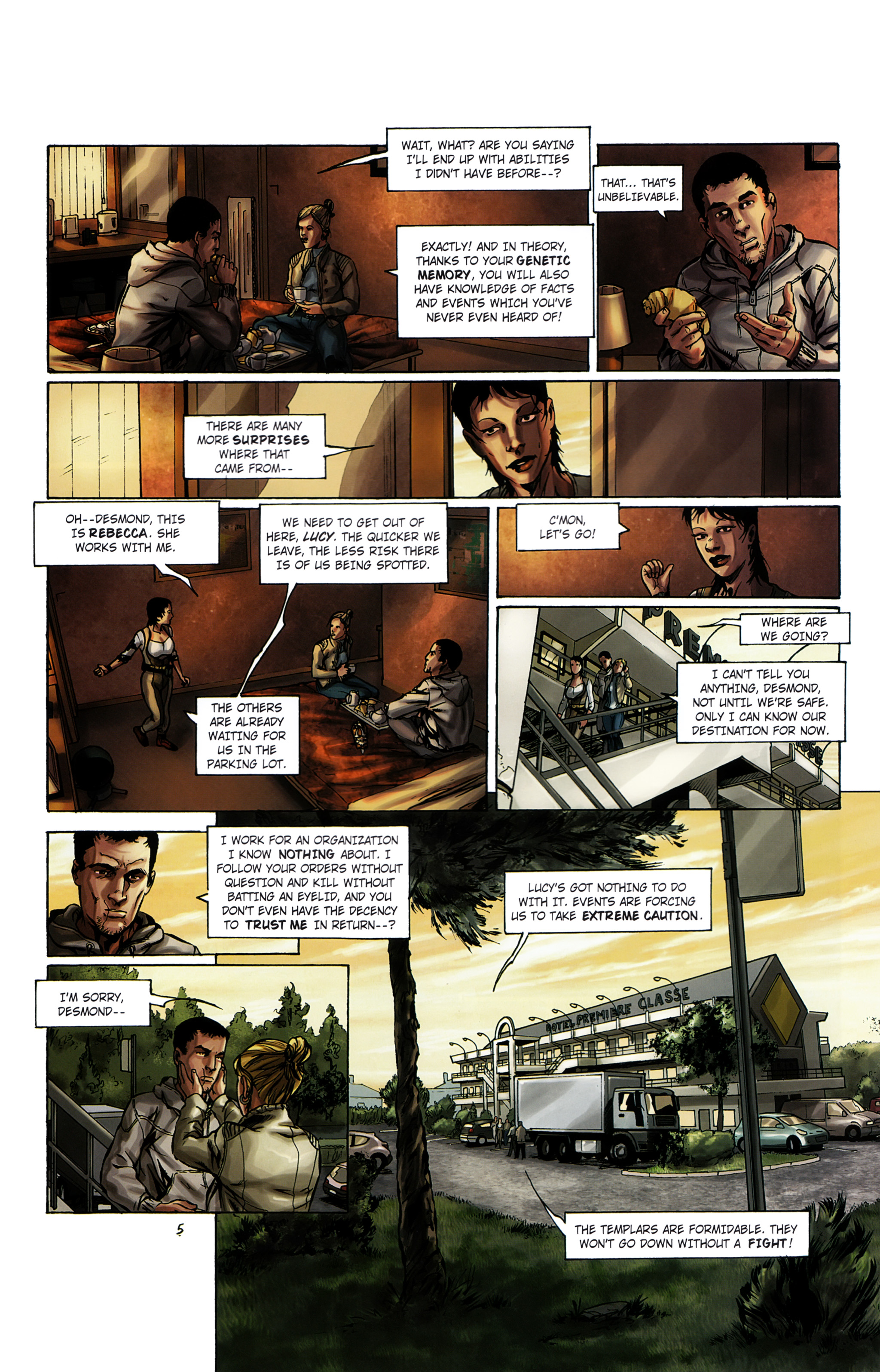 Read online Assassin's Creed (2012) comic -  Issue #2 - 11