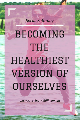 Becoming Healthy - Take care of the inside, and the outside will take care of itself.