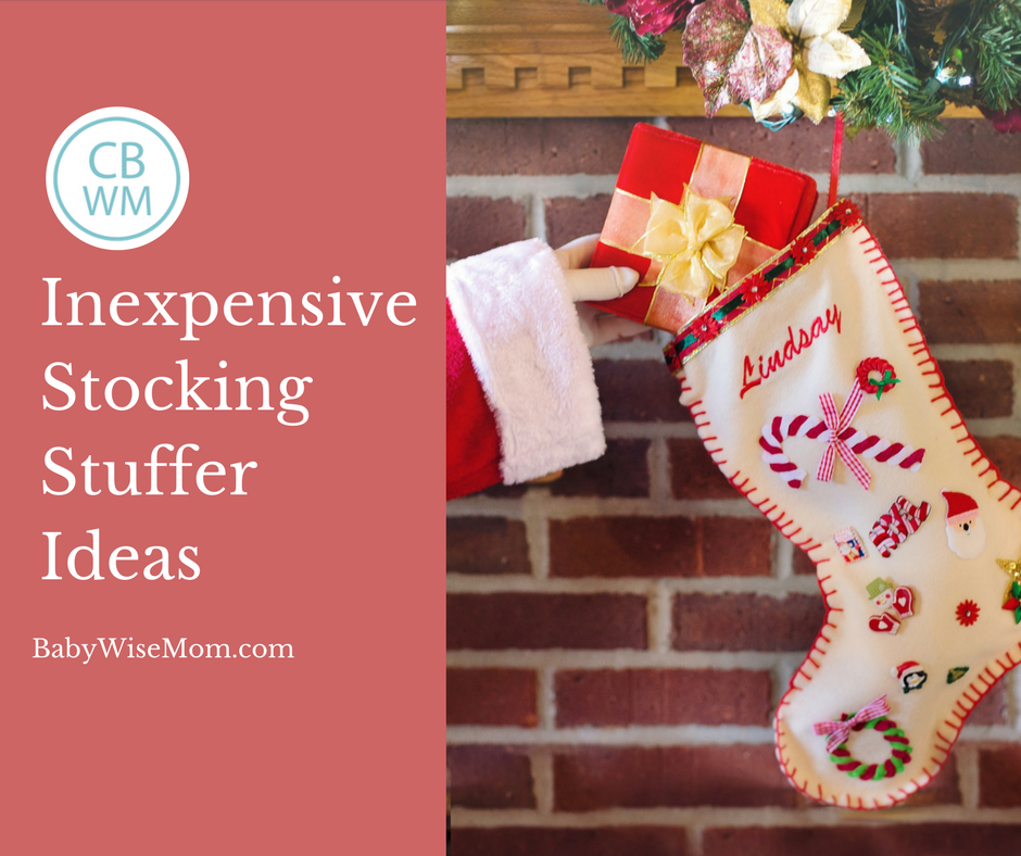 Inexpensive Stocking Stuffer Ideas for Christmas. A list of ideas for stockings for children. 17 different items you can use as stocking stuffers this Christmas.