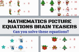 Can you solve these Maths Equations?