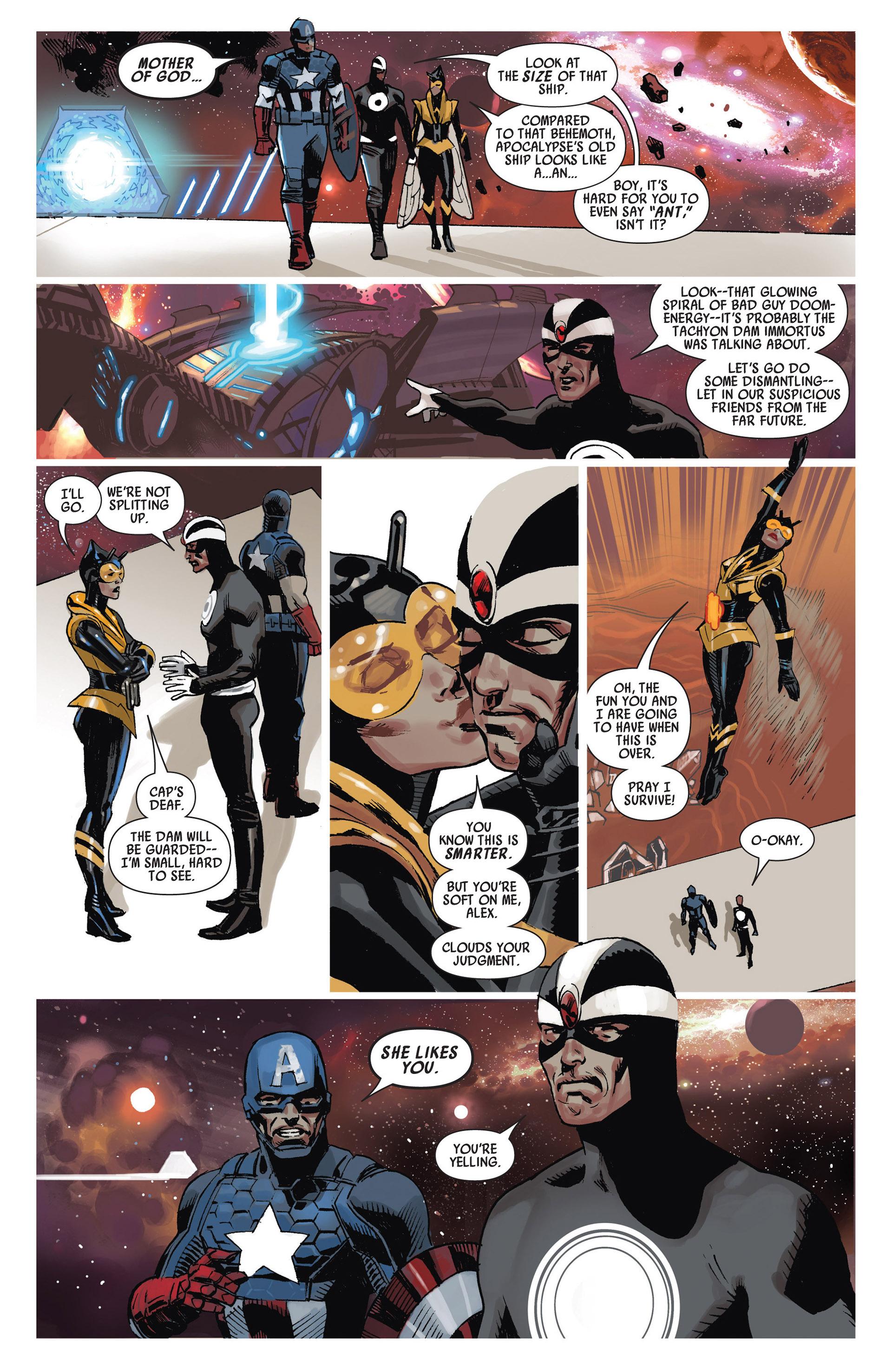 Read online Uncanny Avengers (2012) comic -  Issue #13 - 7